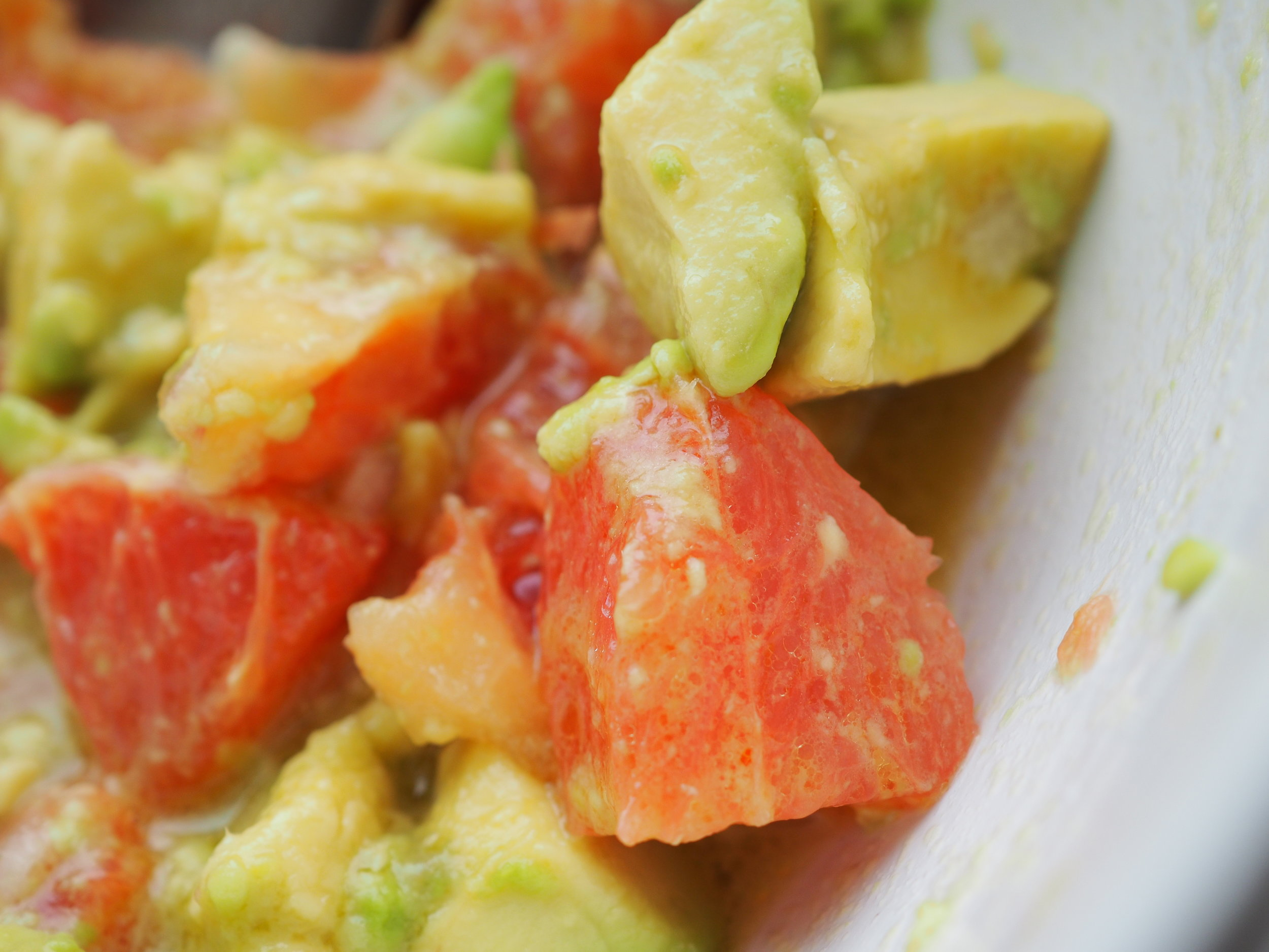 Avocado & Grapefruit Salad -