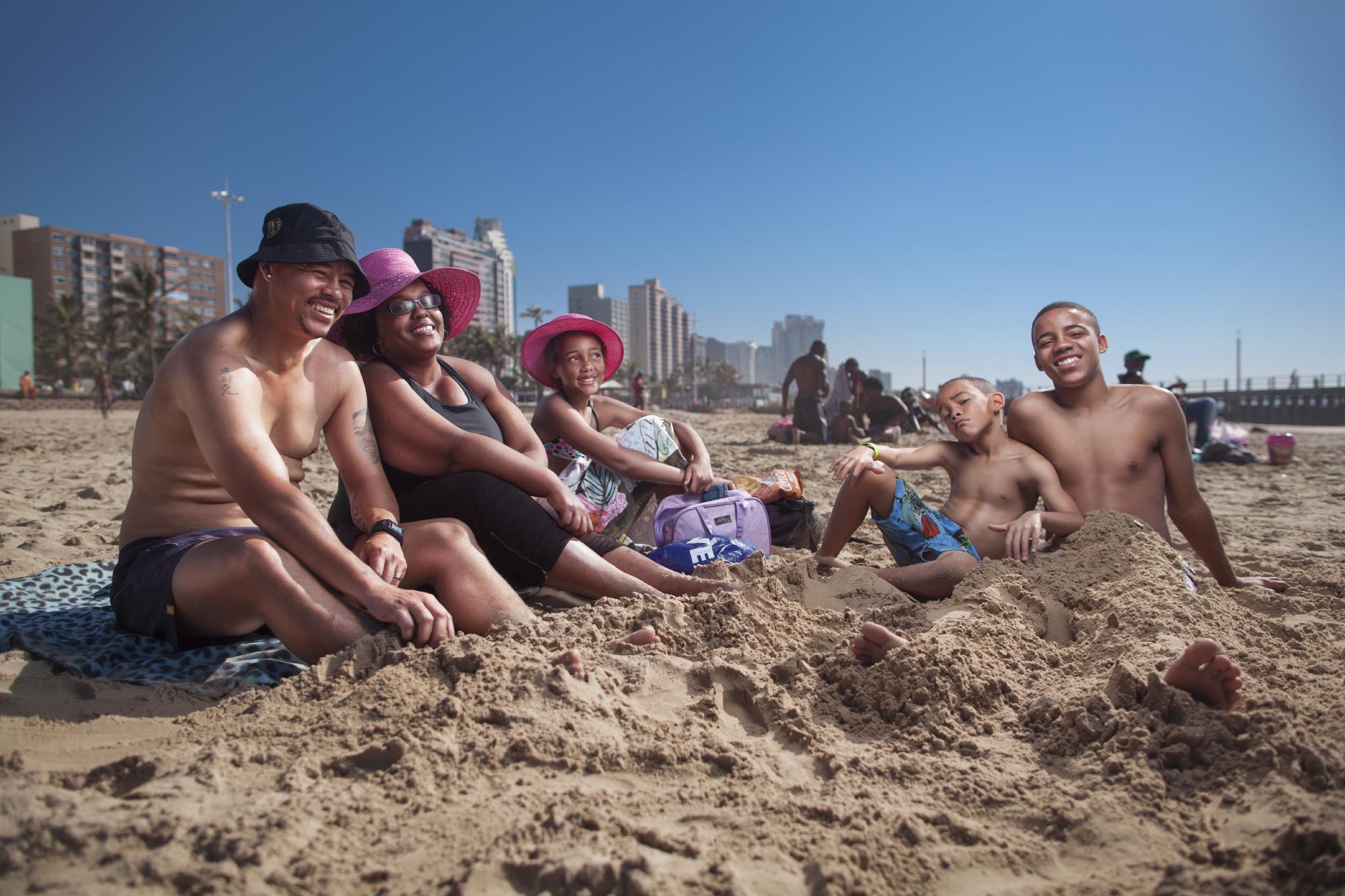 Anton, Renasia and children