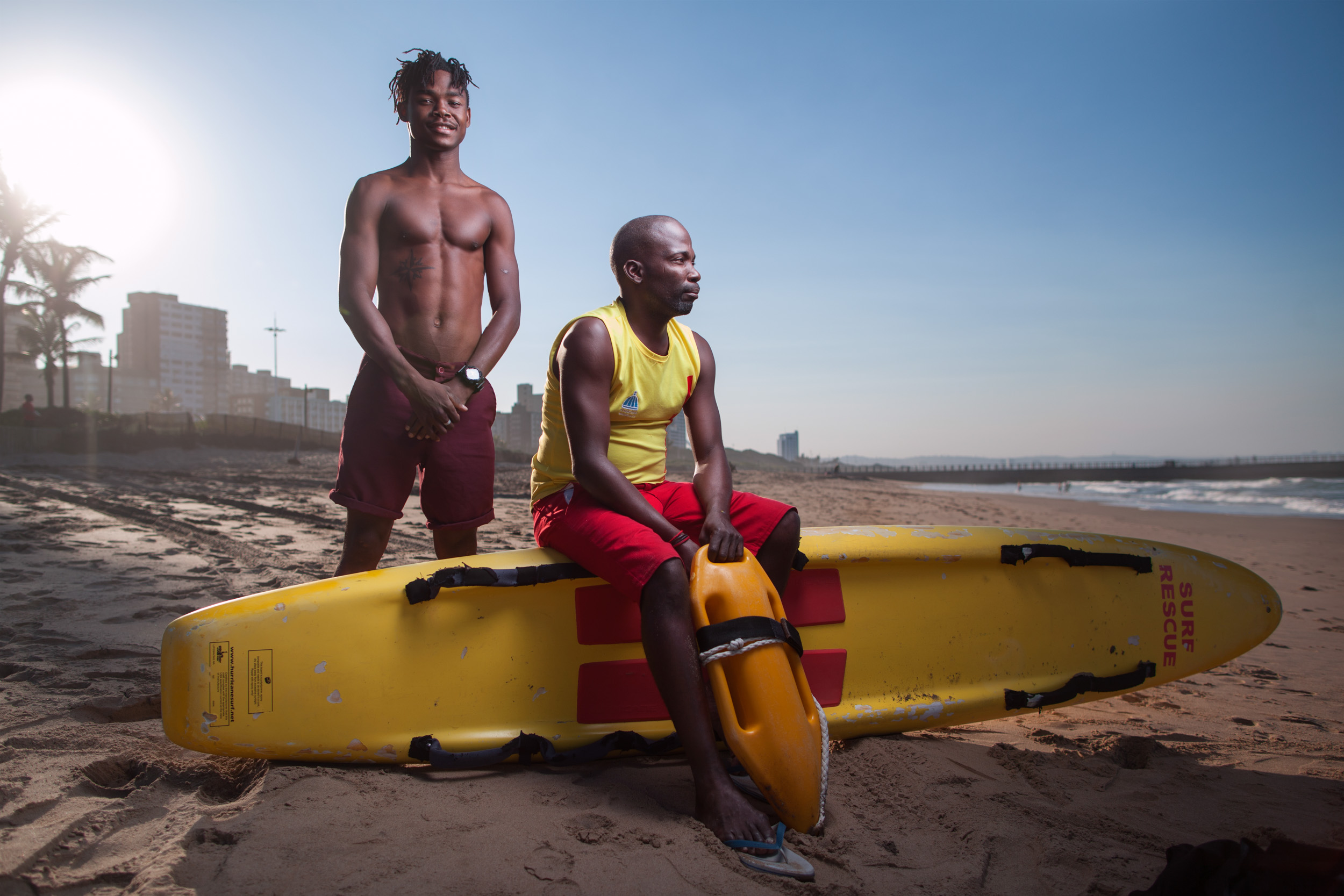 Siyanda and Sipho