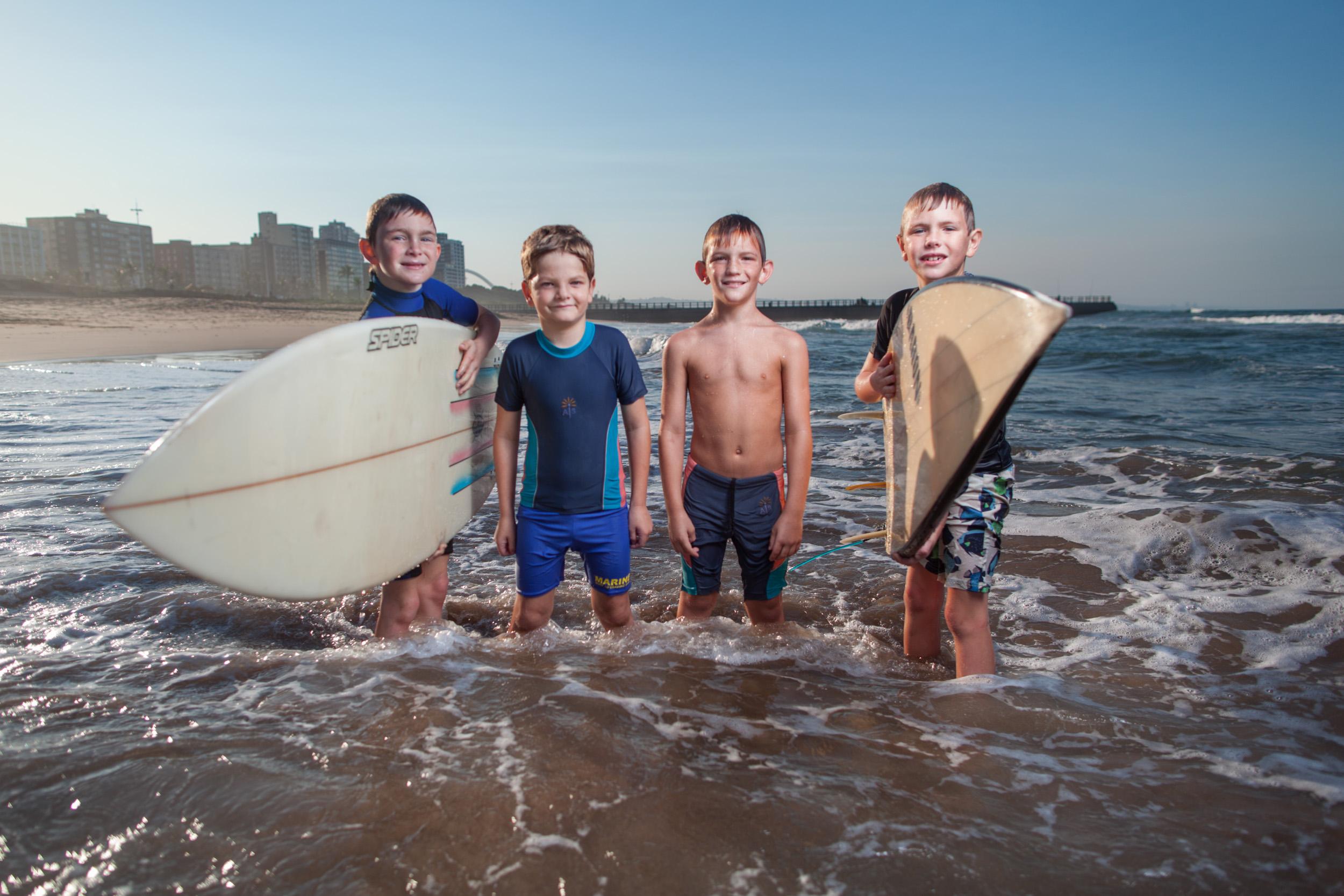 Seth, Caleb, Calbe and Eli