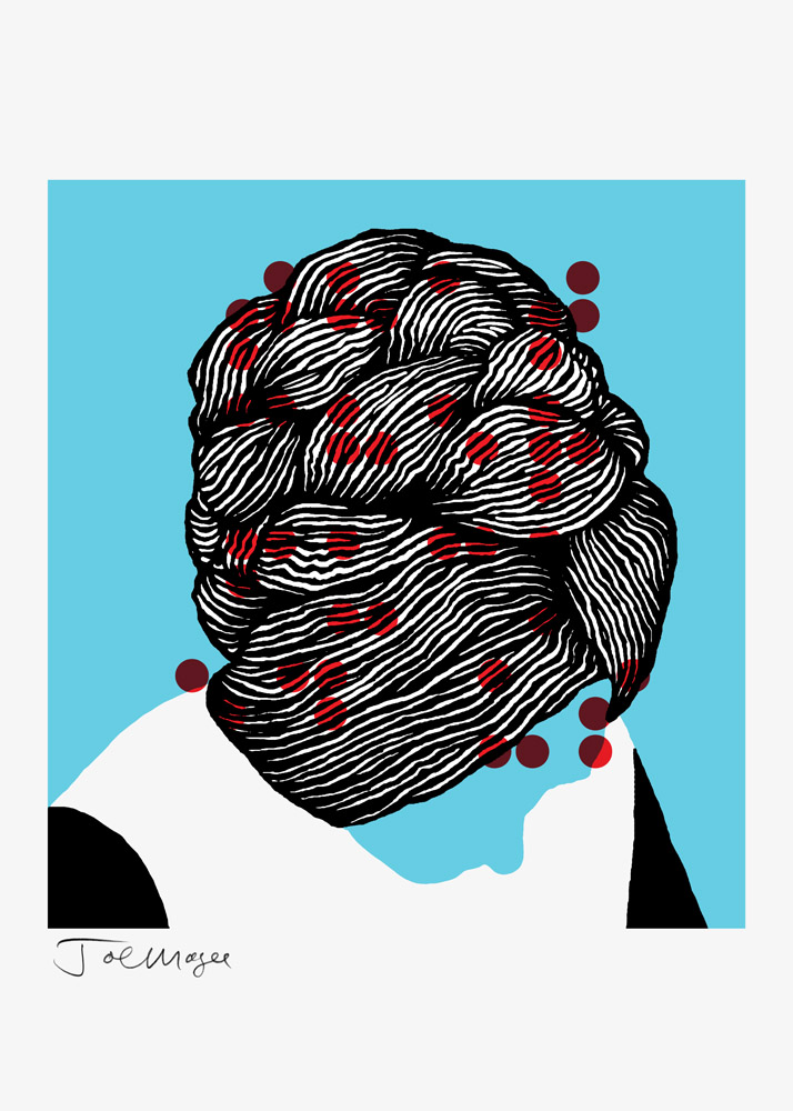 Thatcher 2014  Date printed 2014 Price £325 Print type Screen Print Number in edition 49 Colours 3 Paper type Fabriano Rosaspina Avorio Paper size 70 x 50cm Image area 47 x 44cm Signed by artist in pencil