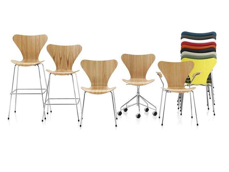 Various Fritz Hansen Chair Styles- courtesy of Republic of Fritz Hansen