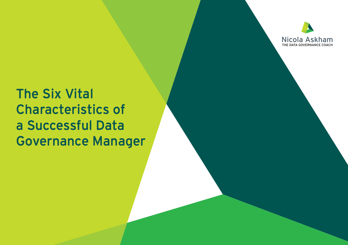 6 vital characteristics of a successful Data Governance manager