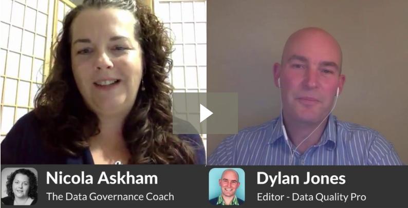 Data Governance the first six months interview