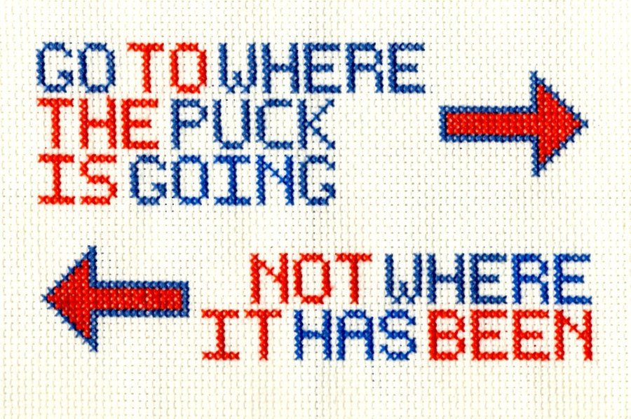 go-where-the-puck-is-going