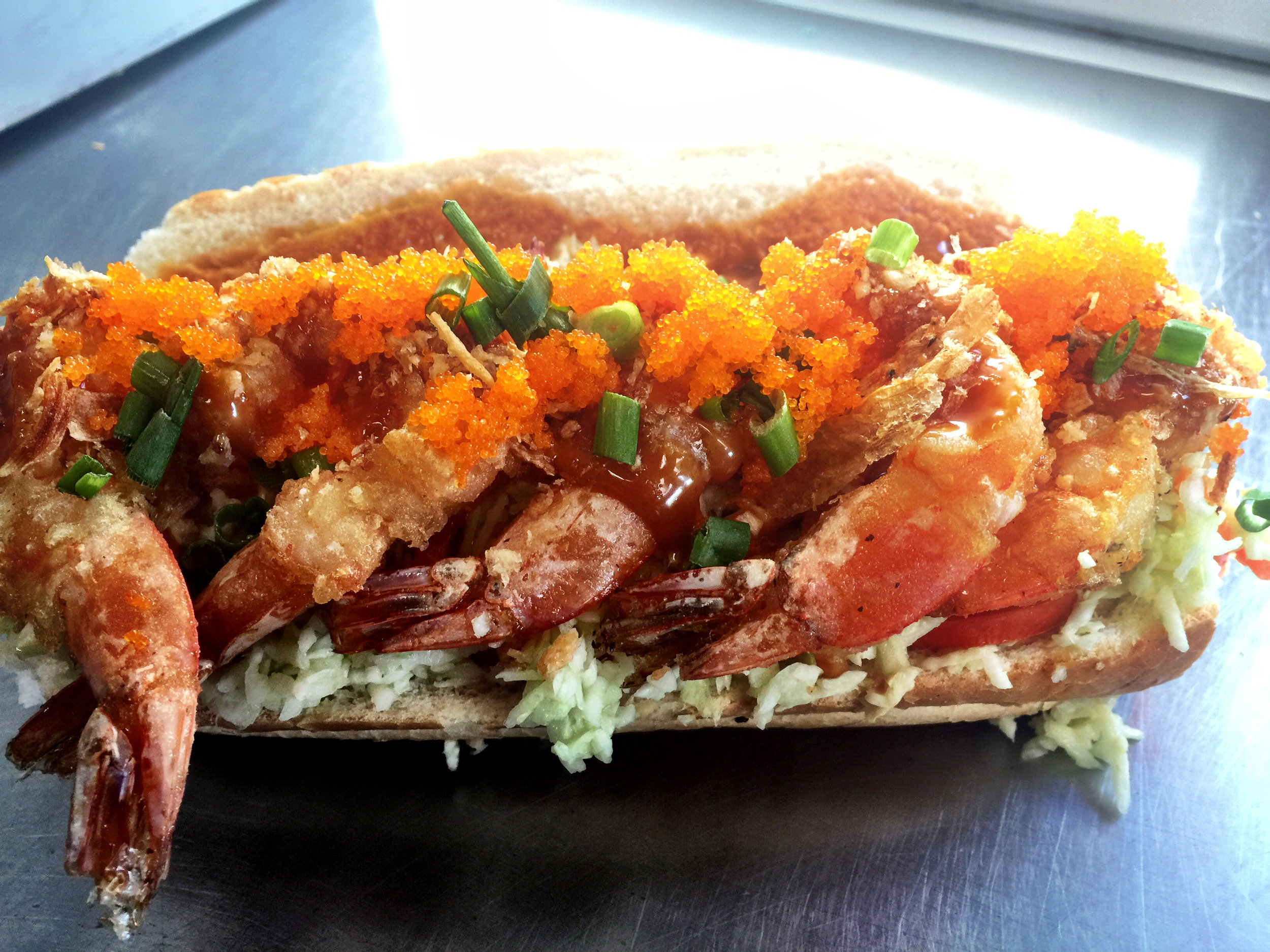 S T P (Shrimp Tempura Po Boy!