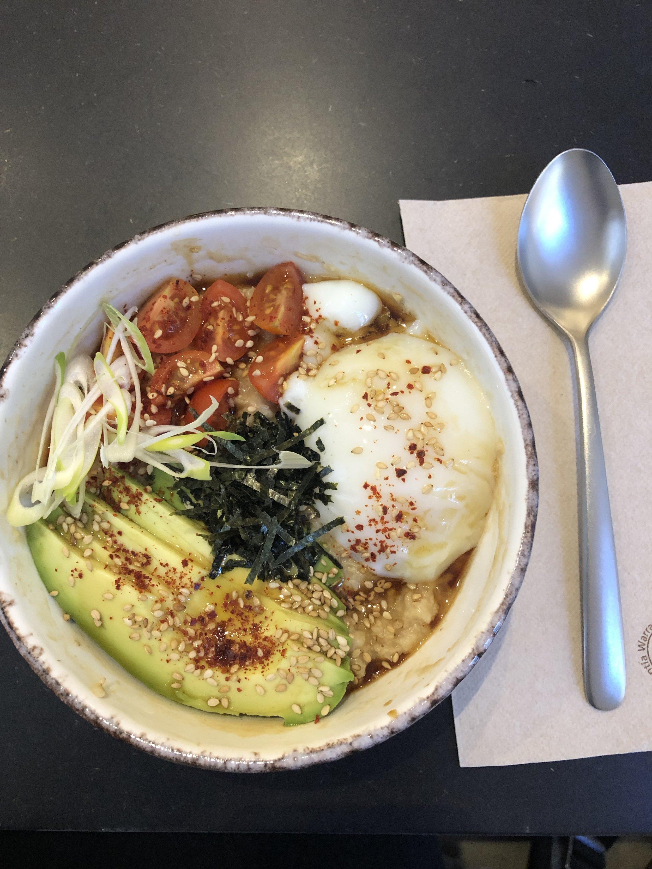 bohl's Mom's Asian Porridge Bowl