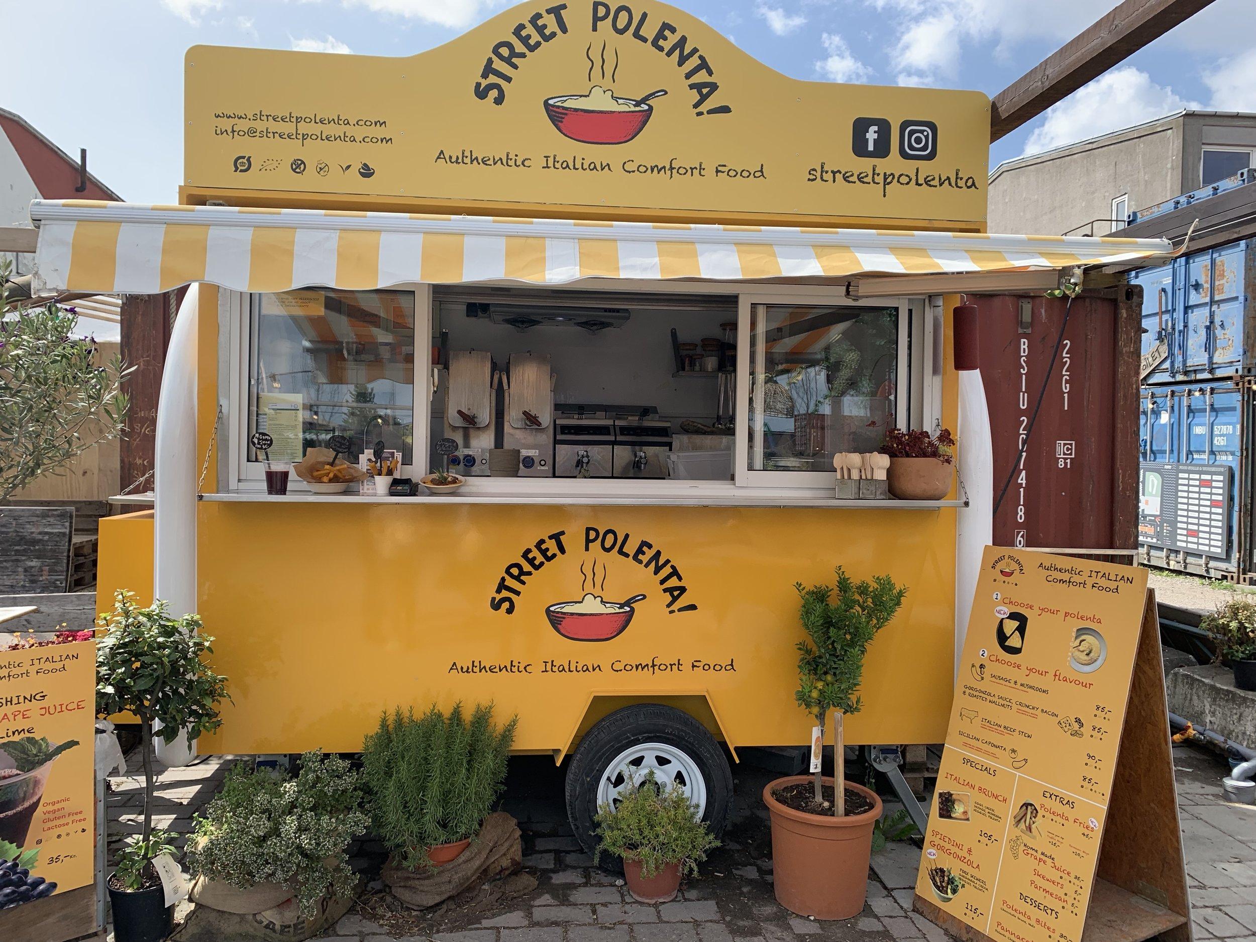 polenta food truck at Reffen