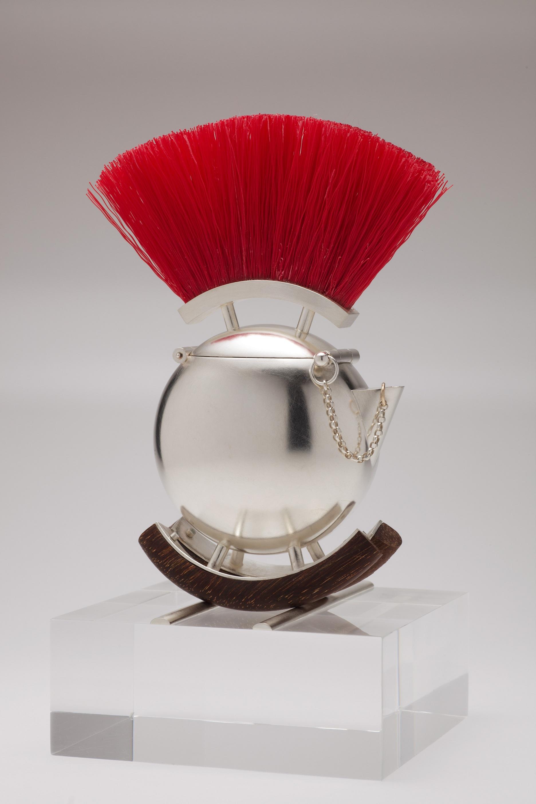 """Punk Rocker"" Award winning miniature decorative teapot."
