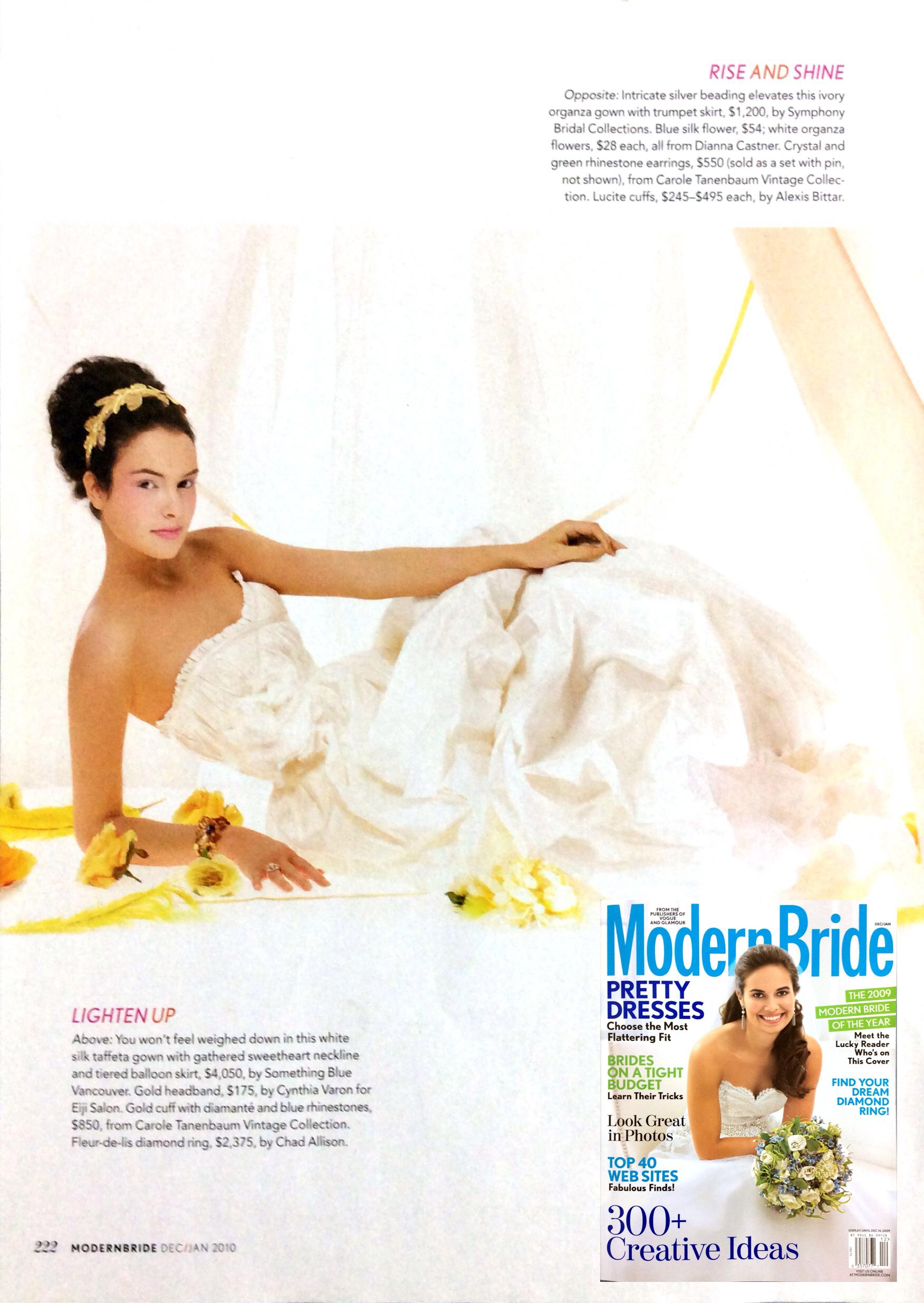 Genevieve gown in Modern Bride