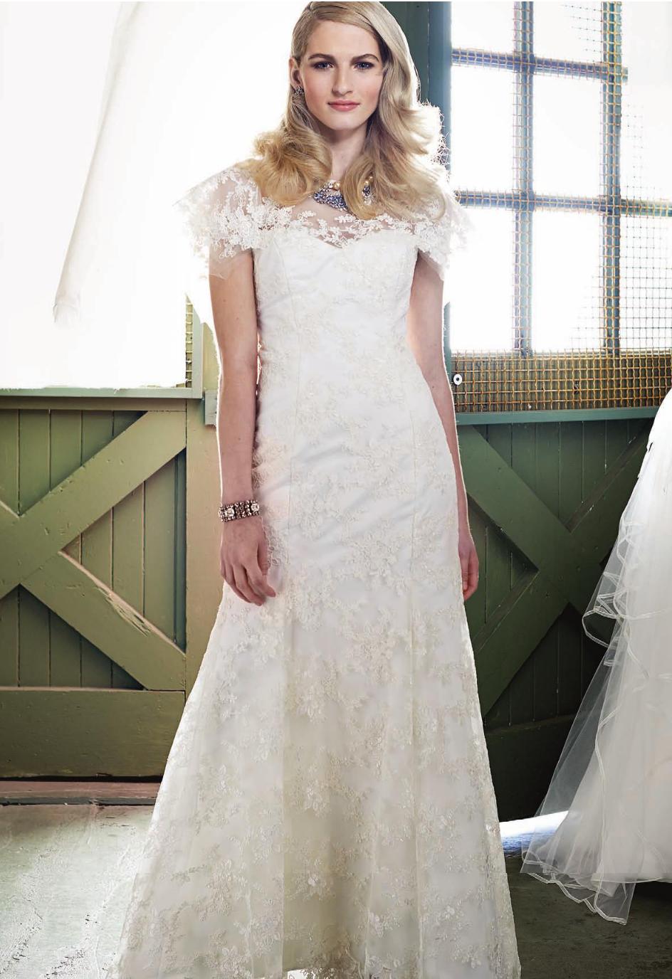 Deidre gown in Real Weddings
