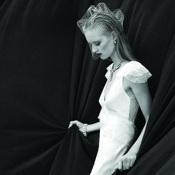 Elle gown in a Real Weddings feature