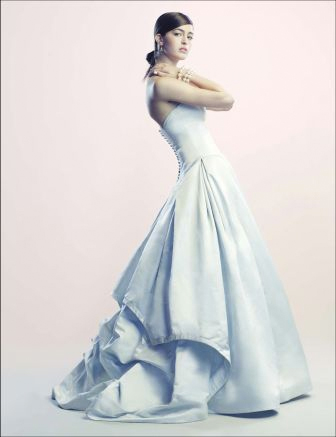 Ophelia gown in Real Weddings