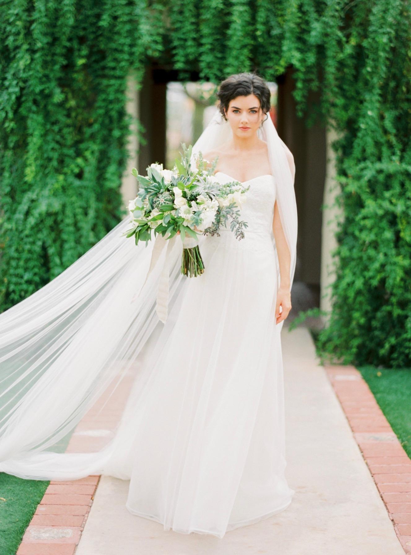 Marie gown in Arizona photoshoot by Atelier de LaFleur