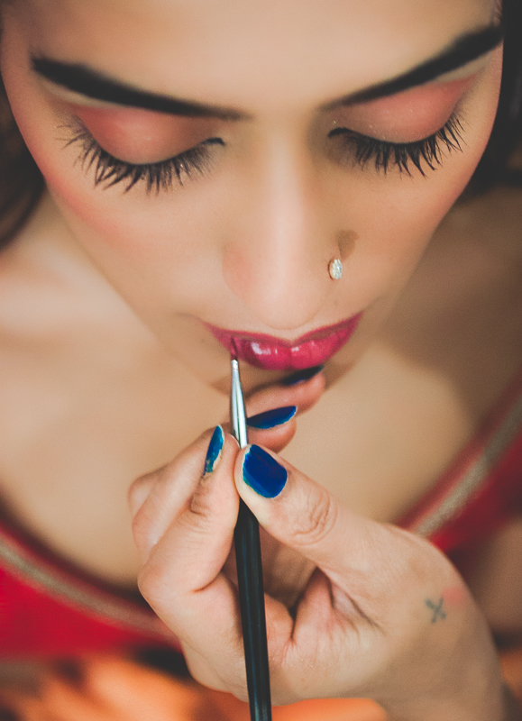 Bridal Make Up Indian Wedding Photography