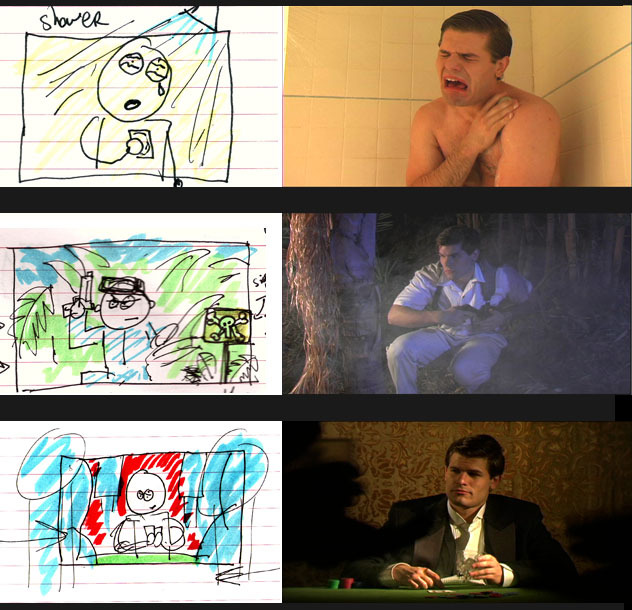 Story boards can be basic…