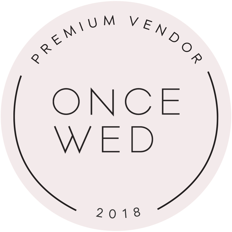 Once Wed Preferred Vendor Callista & Company