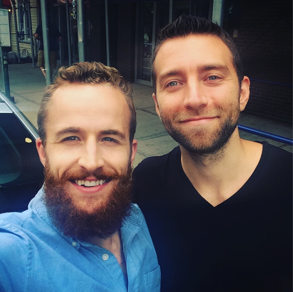 Hung out with my friend Jacob Sokol in NYC