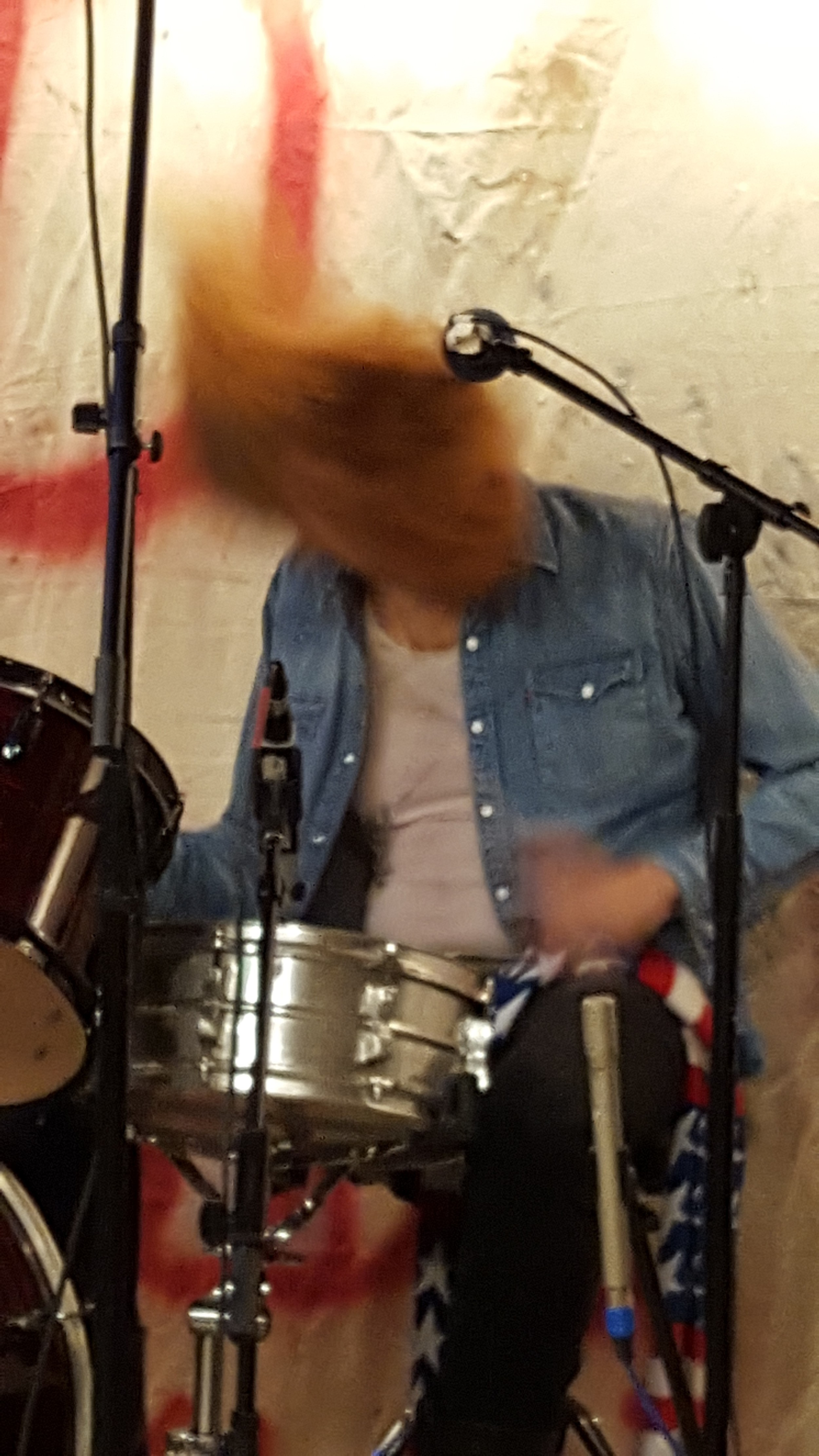 Francis Scott Key White jamming during DZ Winterfest