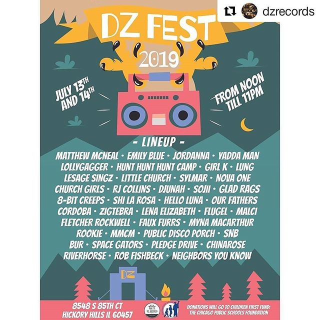 So much going on this weekend at DZ Fest! Art, music, donations! Come by and support the goodness! #dzfest2019 #dzfest #music #musicfestival #art #localmusic #supportlocalartist #supportlocalartists #supportlocalart