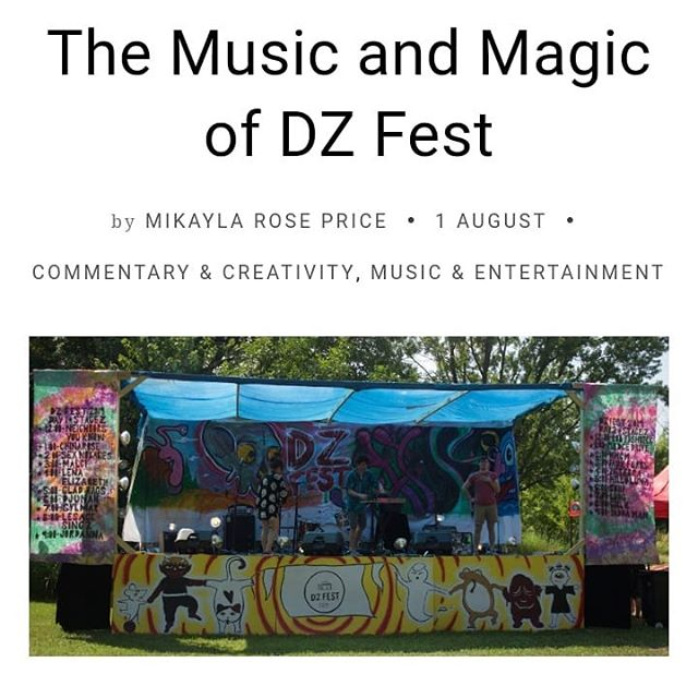 @hotgirlmik wrote an awesome article about DZ Fest!  Thank you Mikayla! Check it out! Link in the bio and below  http://fourteeneastmag.com/index.php/2019/08/01/the-music-and-magic-of-dz-fest/ #dzfest #dzfest2019 #music #musicfestival
