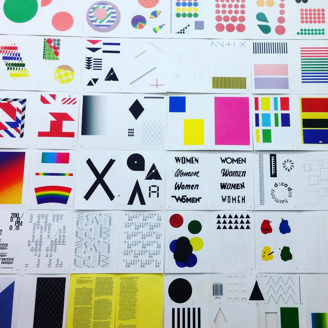Go to design events - NY art book fair