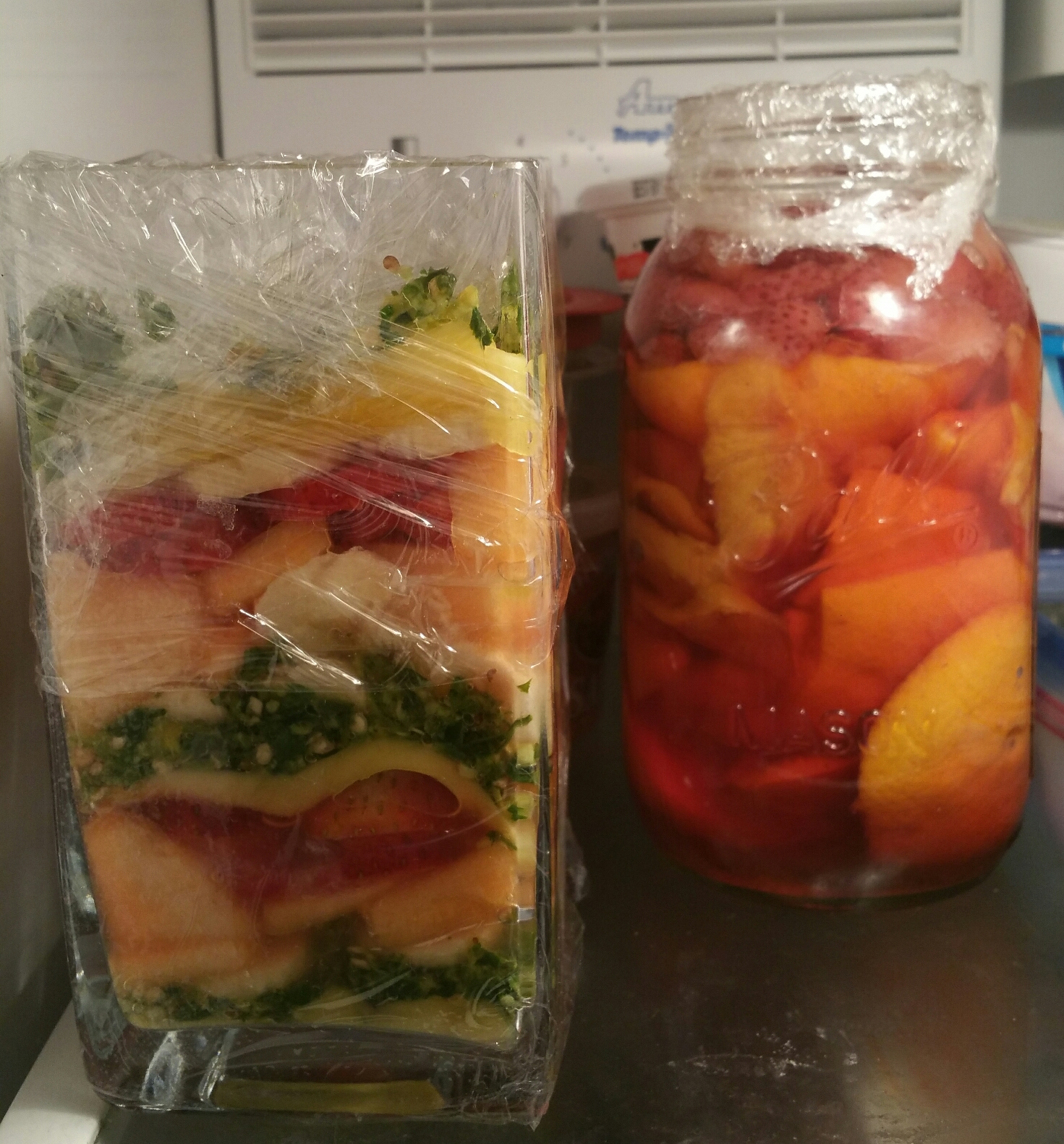 Spicy fruit salsas and simple syrup infusions. A #stir pod in #discovery phase.