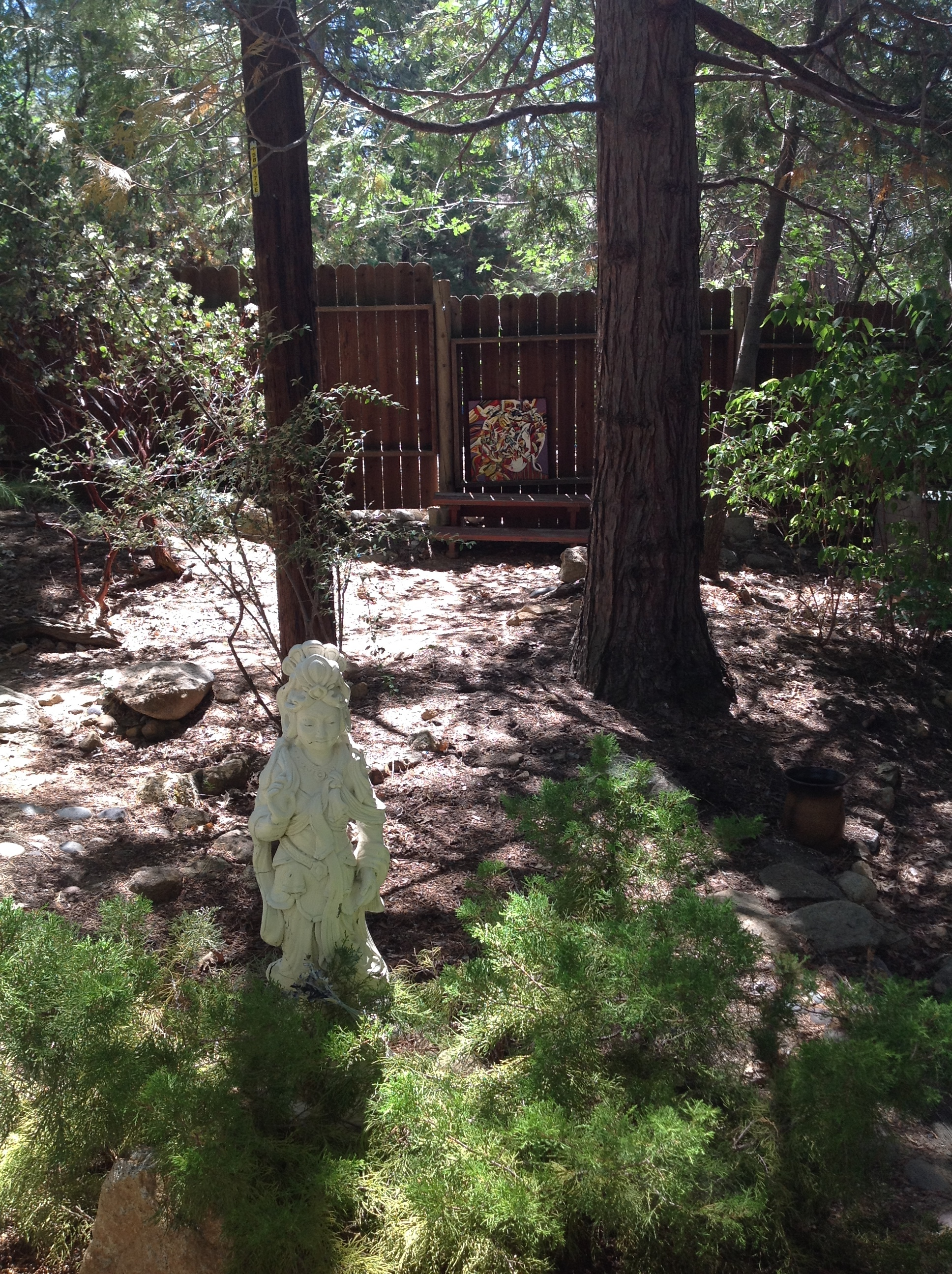 Guan Yin and Crone Field Notes Panel at Spirit Mountain Idyllwild.