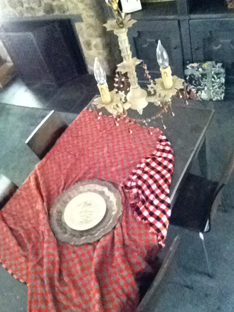 """Tablescape """"Crow's Eye View"""""""