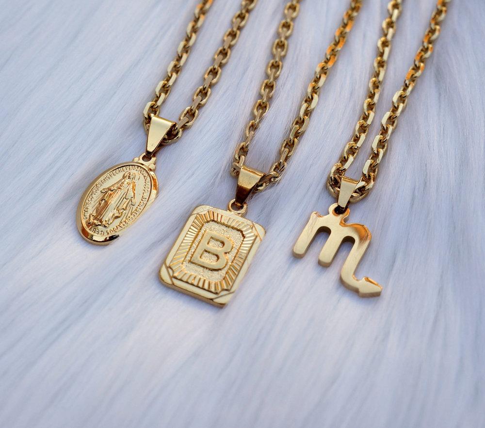 Zodiac Thick Chains