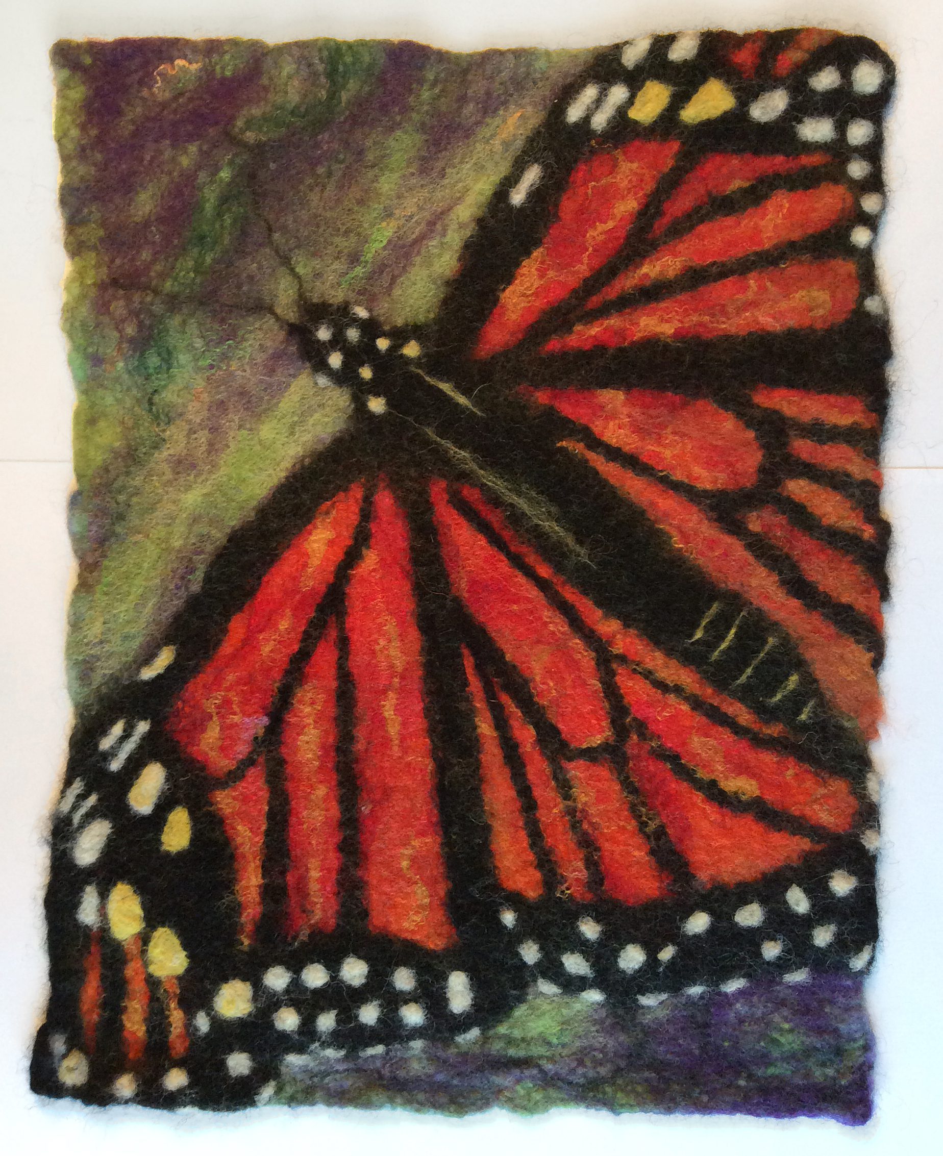 "Monarch, 11"" x 16"", SOLD"