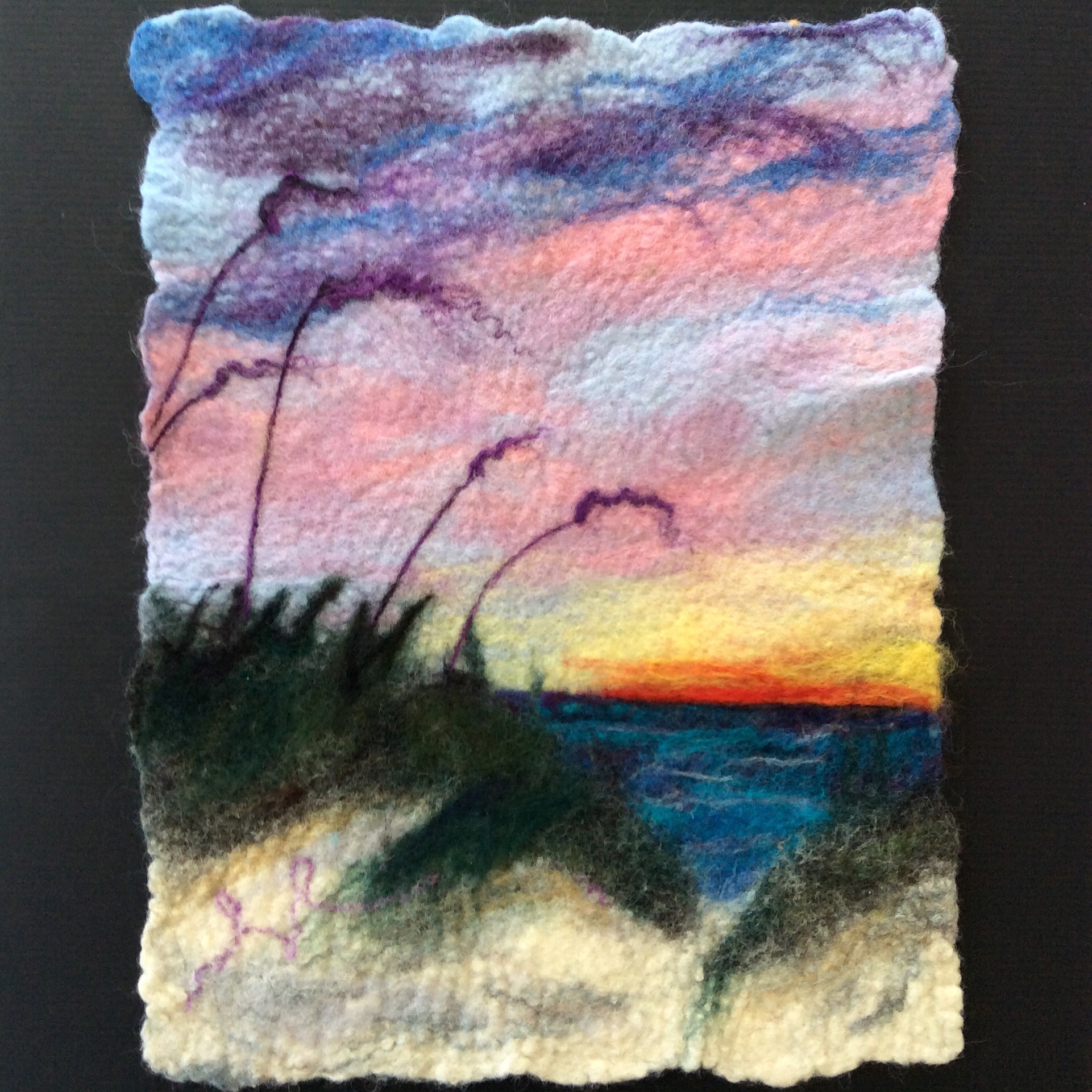 "Sunset Dunes, approx 12x16"", SOLD"