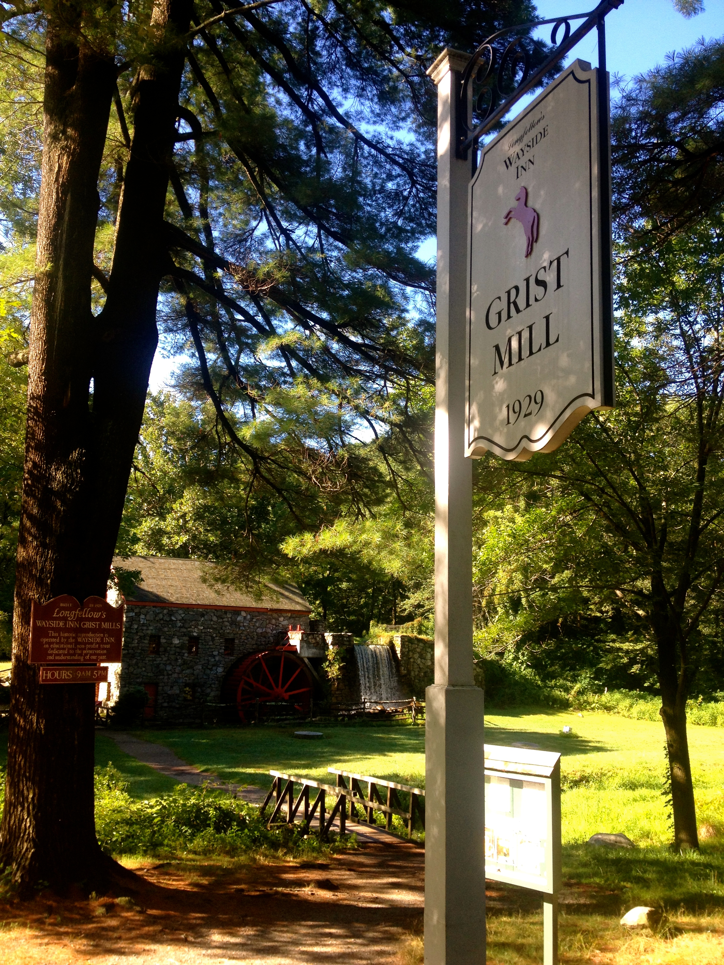 A visit to The Wayside Inn is a must.