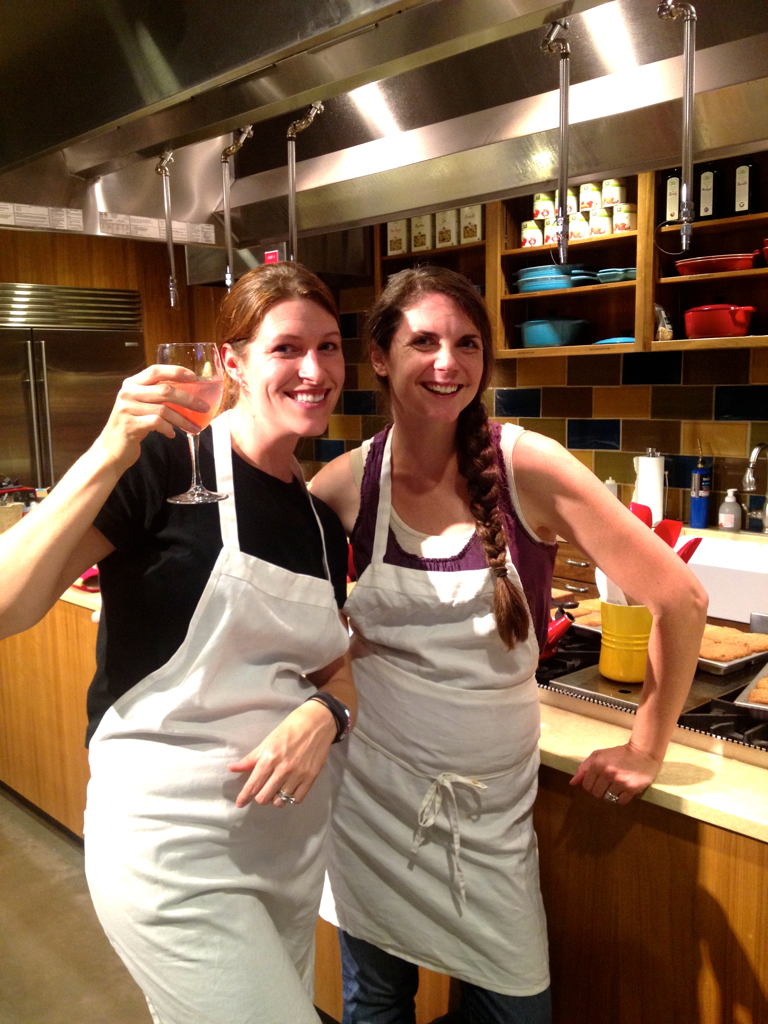 I have started taking cooking classes with my dear friend Jacqui to help me prepare for cooking from scratch in the jungle.