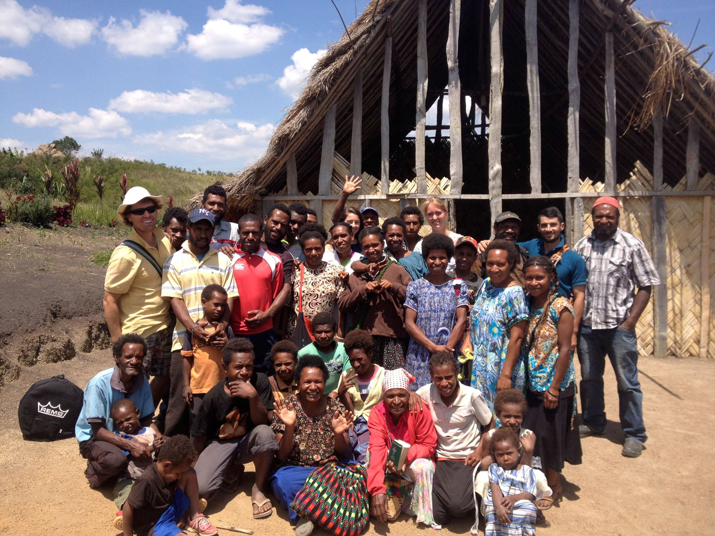 Some of our church family in Kwina