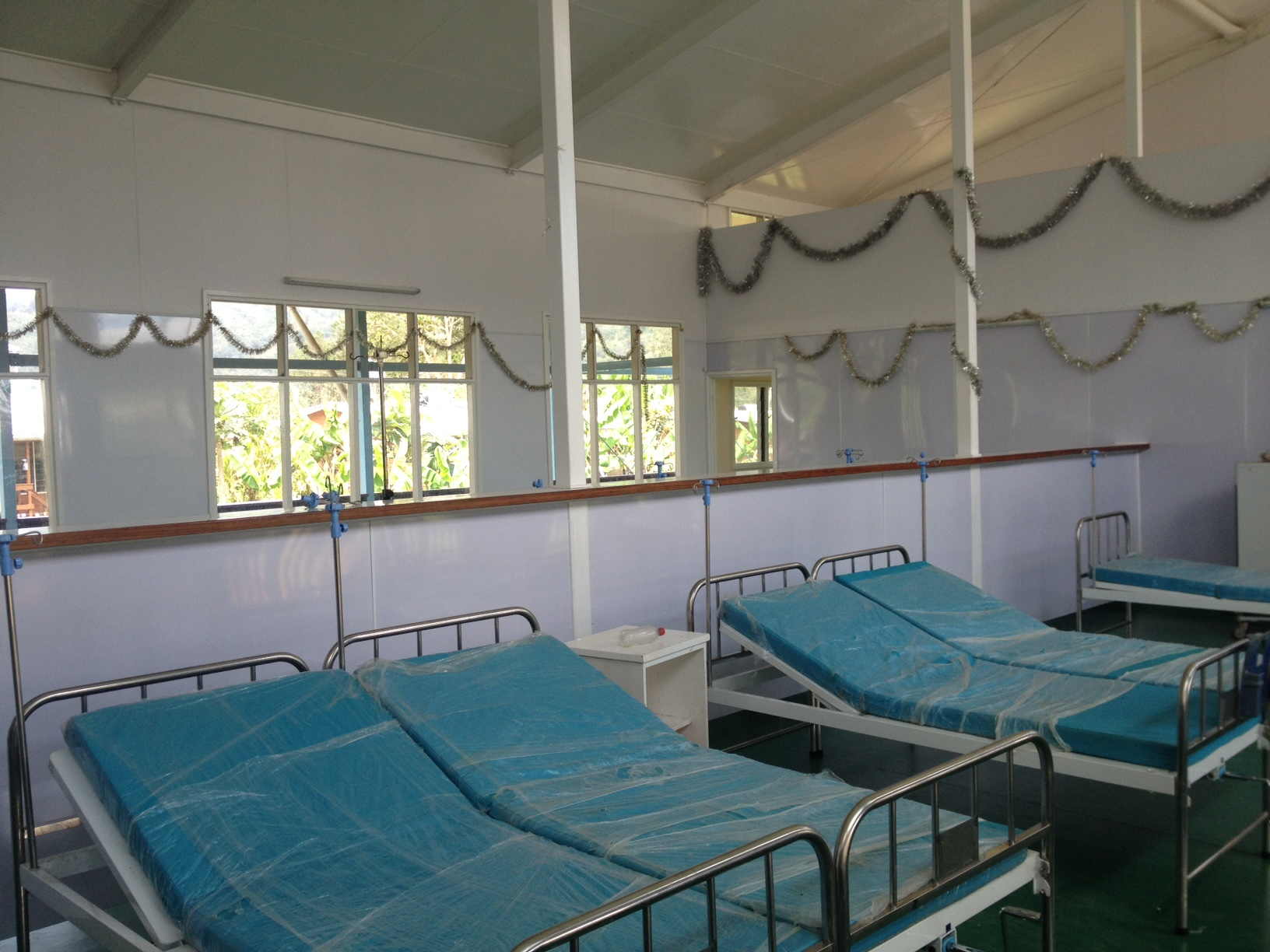 Inside the new maternity wing
