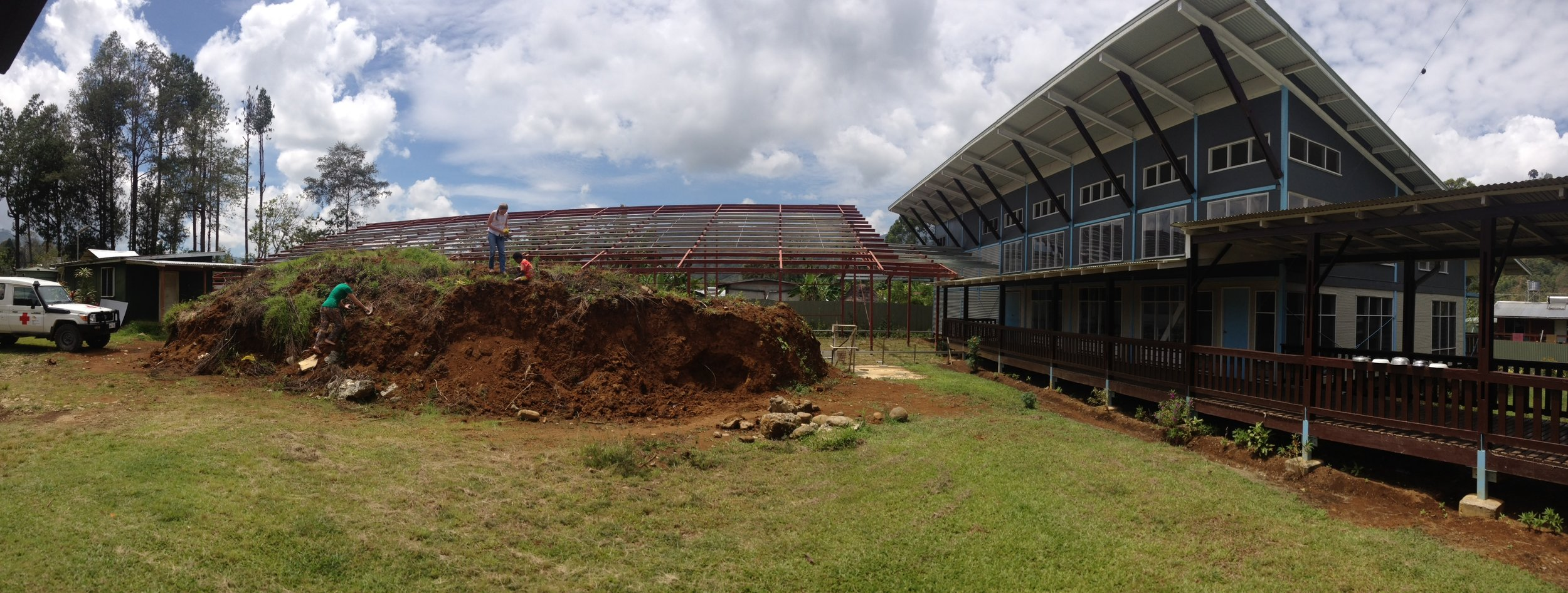 Maternity wing and new construction