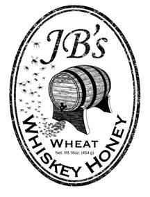 JB's whiskey honey label design by Jean L.jpg