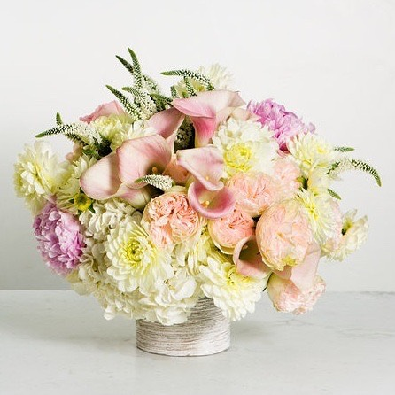 Spring is here and there's nothing better than those pastel florals!  Call to order today!  #sf #sfflowers #sanfranciscoflowers #pastelflowers #sfdelivery #peonies #hydrangea #roses #minicallas