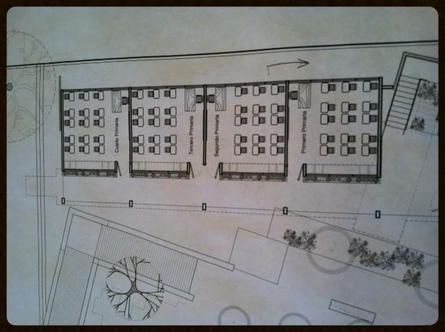 Blueprints for the TEN FE school/youth community center