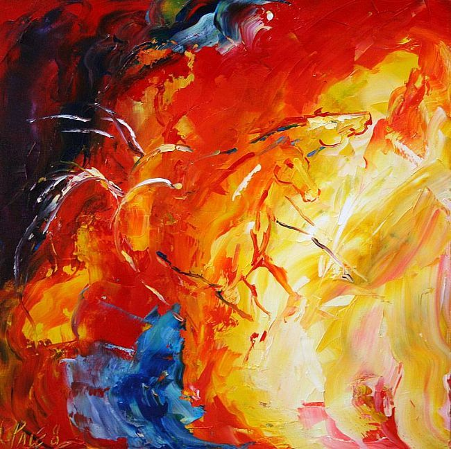Into The Fire © Laurie Pace 2008