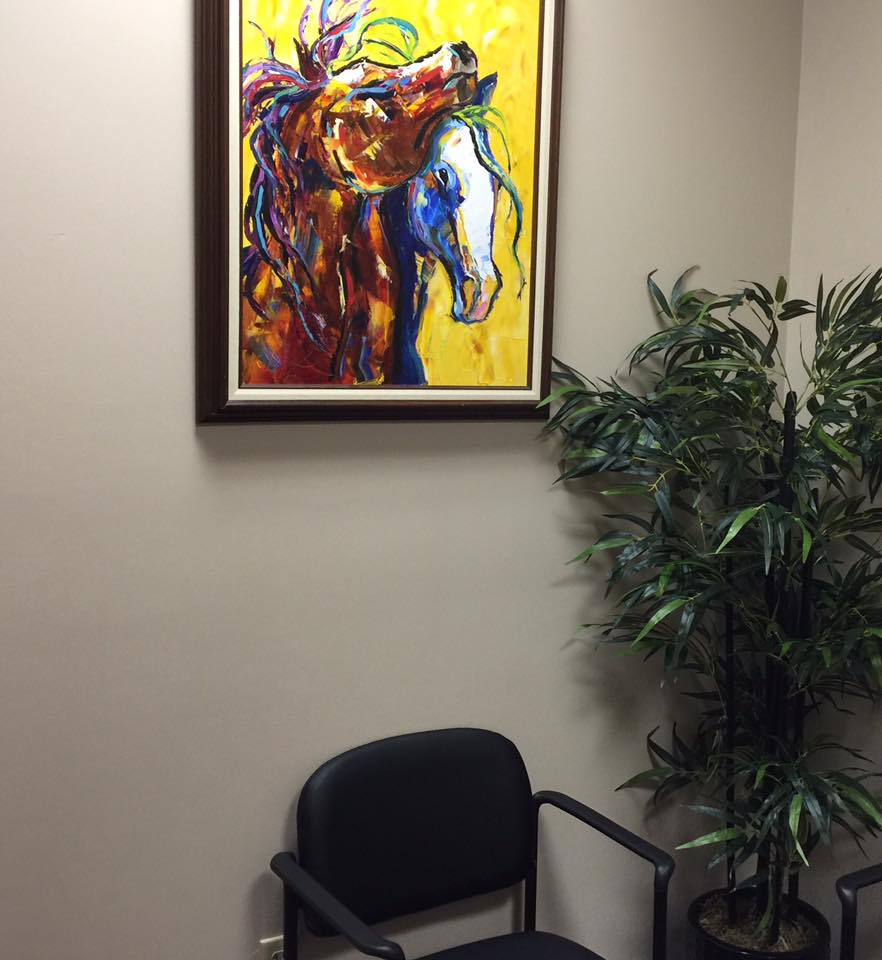 Horses at the Doctors