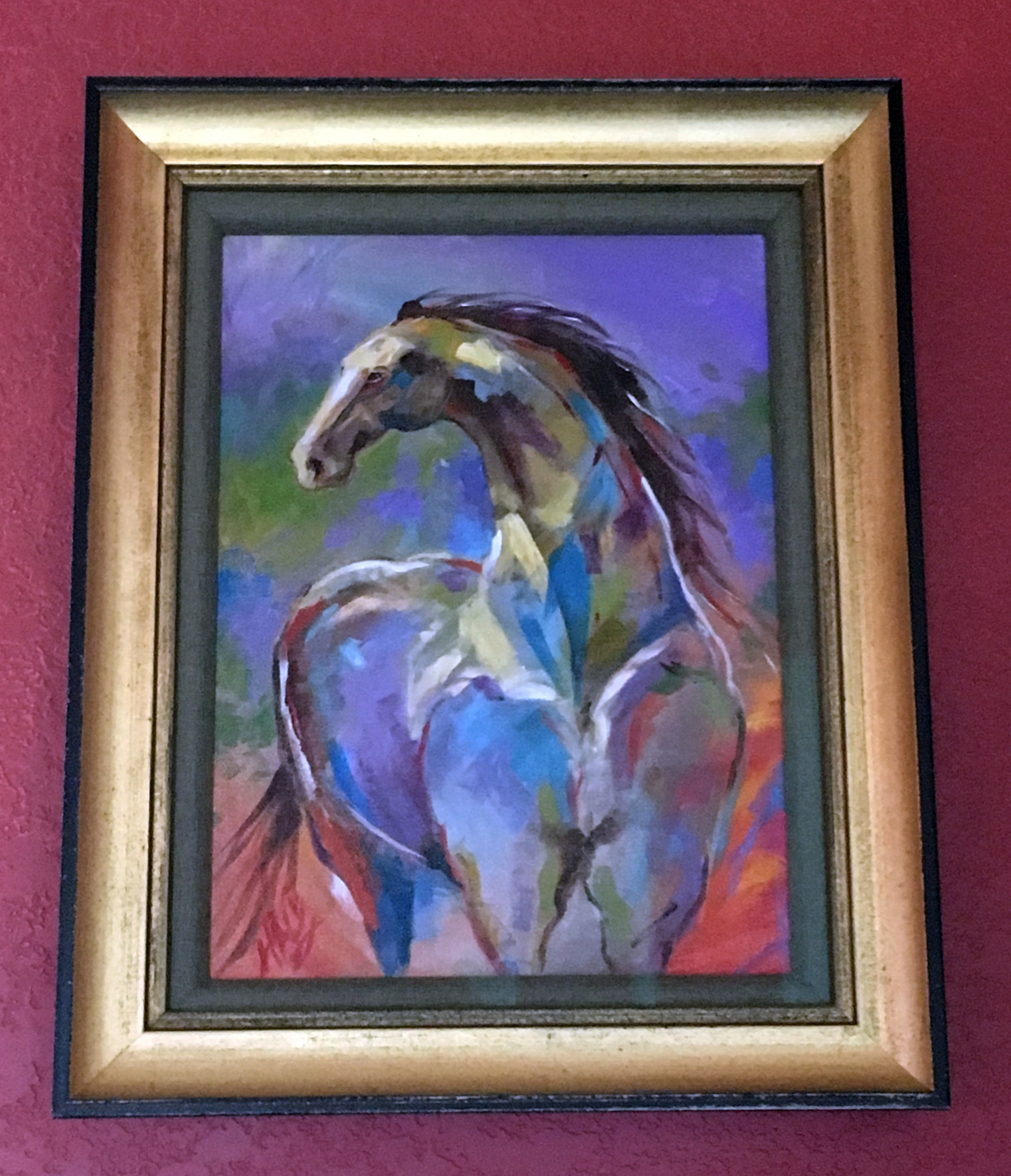 Small Horse Paintings