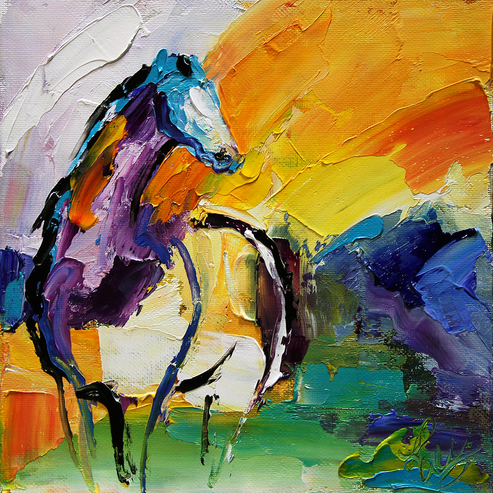 Settled (sold) © Laurie Justus Pace 2014