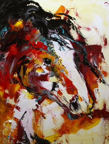 Red Desert Horse © Laurie Justus Pace 2008