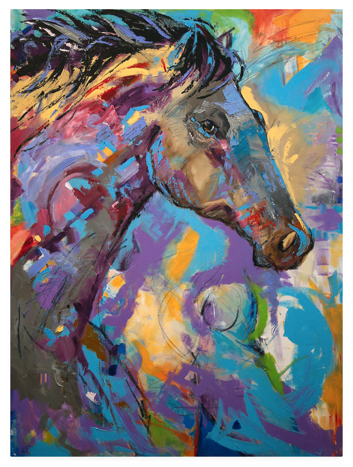 Loner By Texas Artist Laurie Pace Special Giclee Pricing.jpg