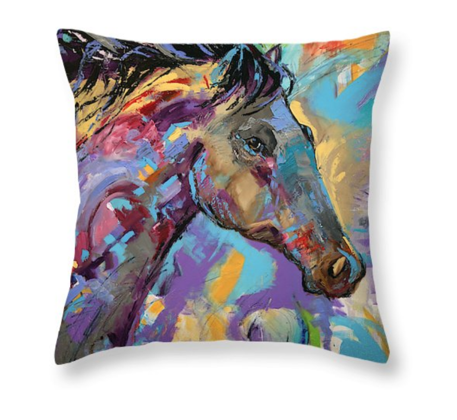 GET A THROW PILLOW AND BRIGHTEN A COUCH!