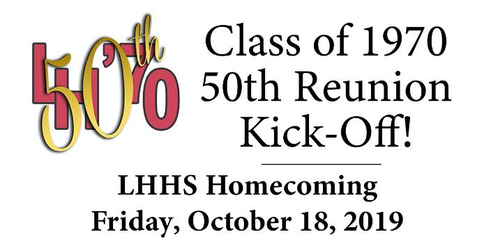 LH 70 Football Fifty Years Class Reunion