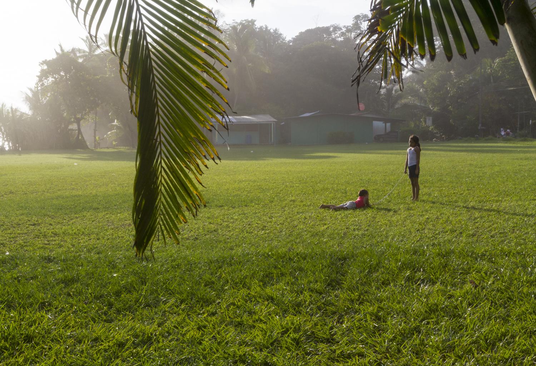 Kids Playing in Punta Banco