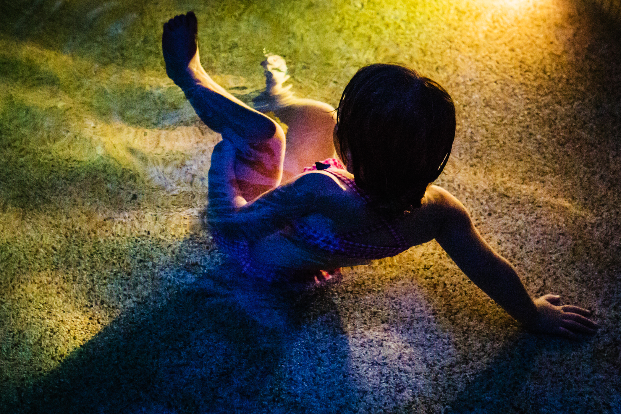 Night Swim , 2016 on display at Photo Pace Gallery